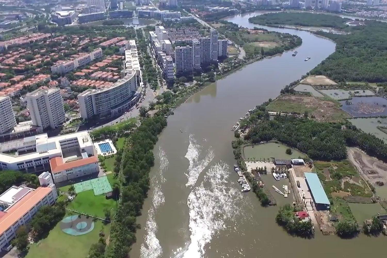 Khu dân cư Phước Kiển nằm tại huyện Nhà Bè