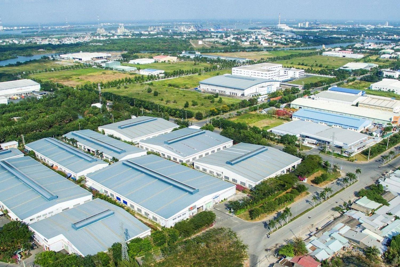Khu công nghiệp Phú Bình có diện tích 246ha. Ảnh minh họa