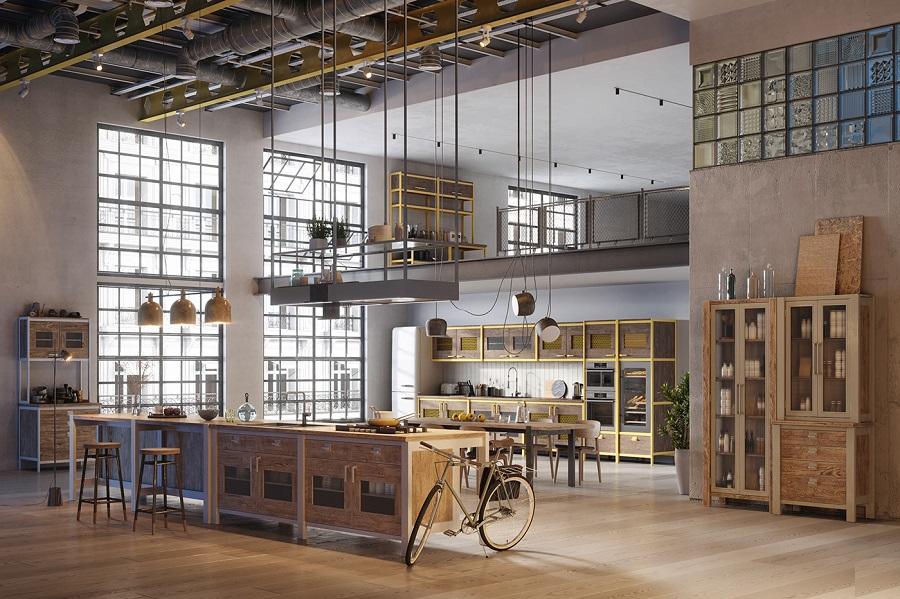 Phong cách Loft trong thiết kế nội thất ra đời từ những năm đầu thế kỷ XX, tại New York.