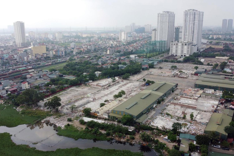 Khu vực thực hiện dự án TTTM Aeon Mall Hoàng Mai có quy mô khoảng 6ha