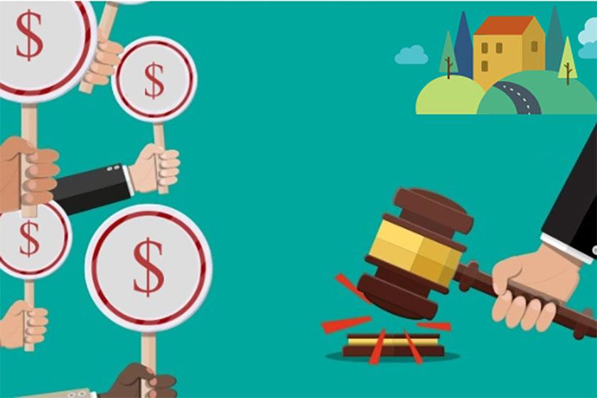 Đấu giá quyền sử dụng đất là việc Nhà nước giao quyền sử dụng đất hoặc cho thuê đất thông qua đấu giá. Ảnh minh họa: Internet