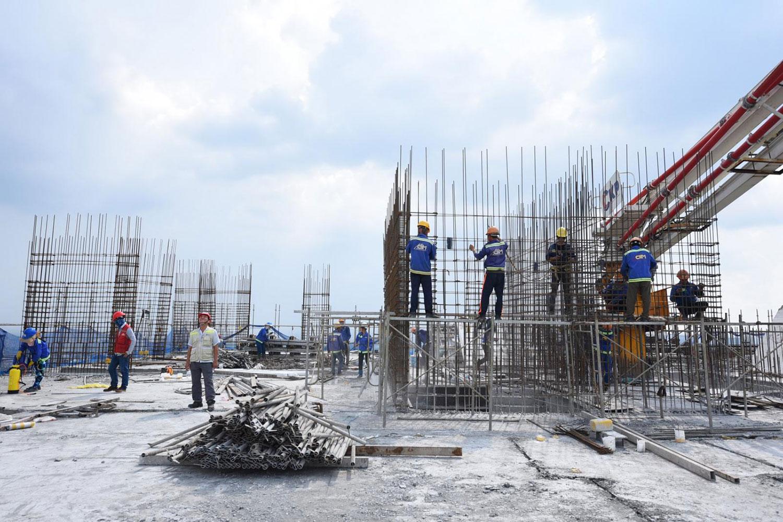Nhiều dự án chung cư mới triển khai tại Bình Dương đang có giá bán ngày càng tăng cao. Ảnh minh họa