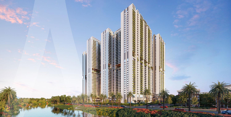 Phức hợp thương mại và căn hộ cao cấp Astral City sở hữu vị trí chiến lược mặt tiền QL13
