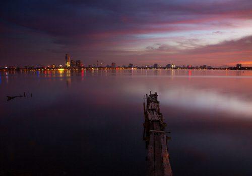 Phong thủy hồ nước 01