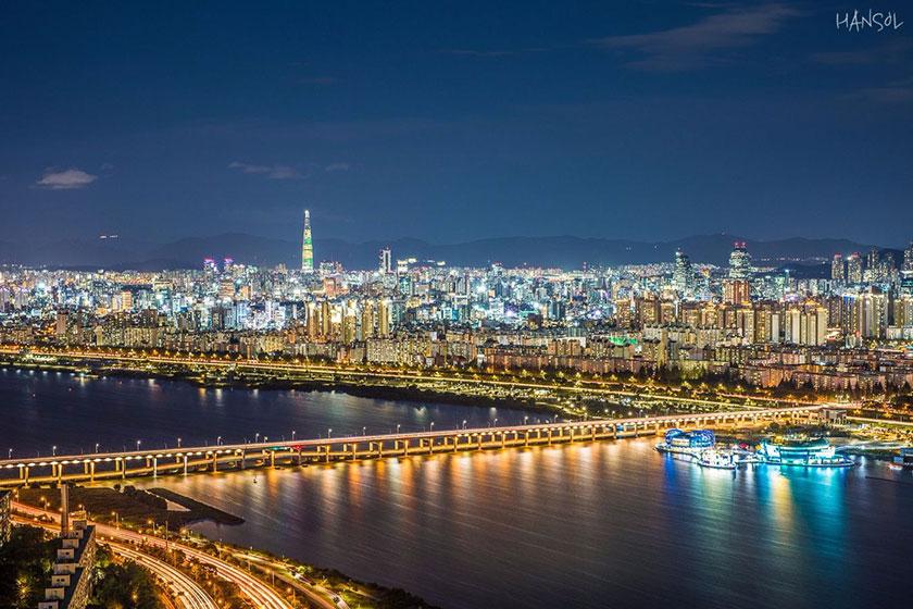 Gangnam bên bờ sông Hán