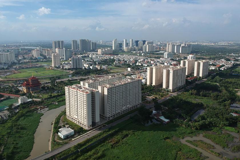 Nhiều căn hộ tái định cư tại TP.HCM bị bỏ trống. Ảnh minh họa