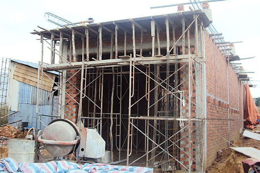 Hoàn công nhà nhỏ hơn giấy phép xây dựng tại TP. HCM