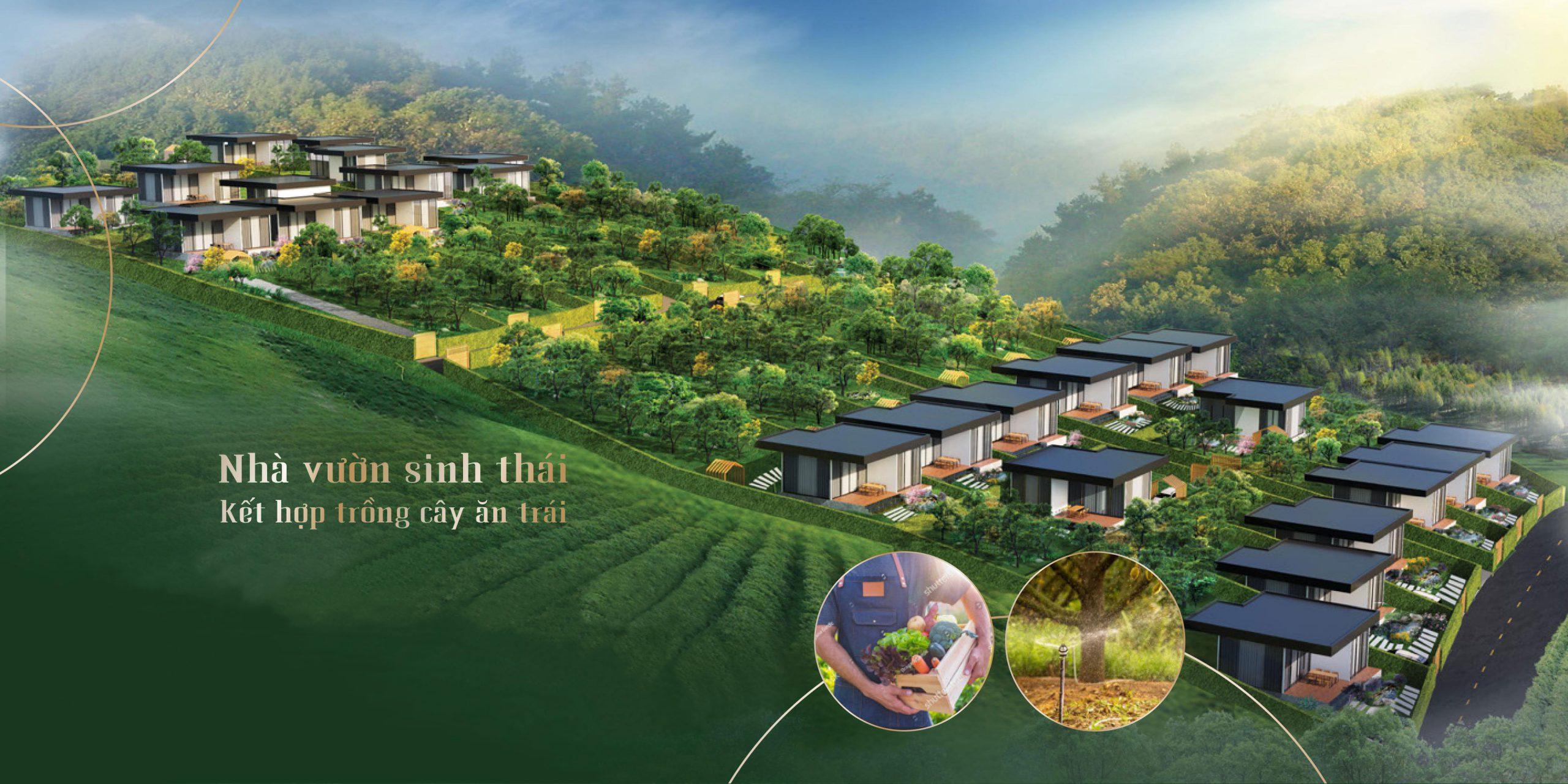 Nhà vườn The Green Farmhouses Lâm Hà