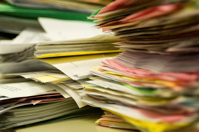 Các loại biên lai giấy tờ