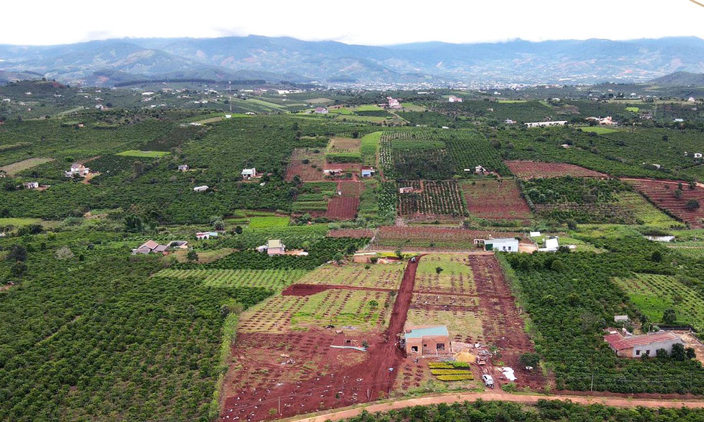 Vị trí dự án The Green Farmhouses