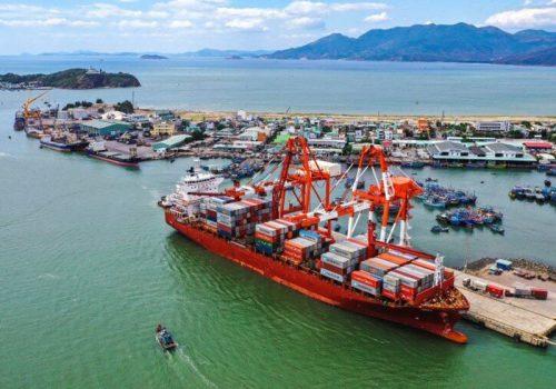 Khu vực quy hoạch mở rộng cảng Quy Nhơn có diện tích 87,92ha
