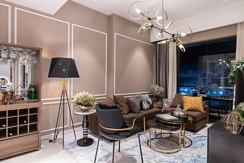 Căn hộ Anderson Park được thiết kế theo chuẩn hạng phòng Suite tại các khách sạn, resort 5 sao
