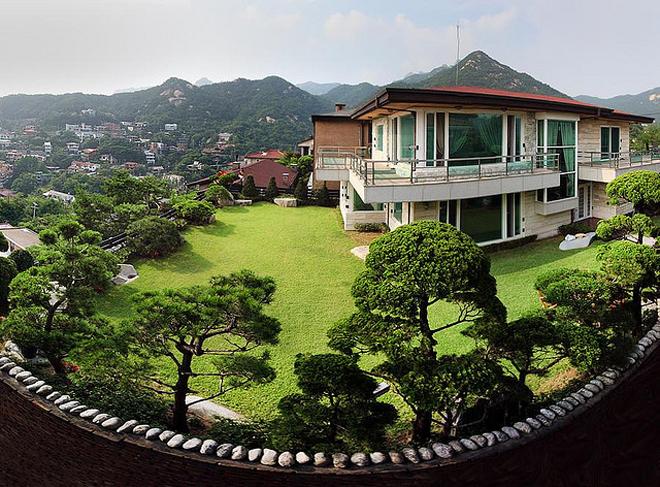 Tham khảo mẫu thiết kế nhà vườn kiểu Hàn Quốc. Ảnh minh họa: Internet