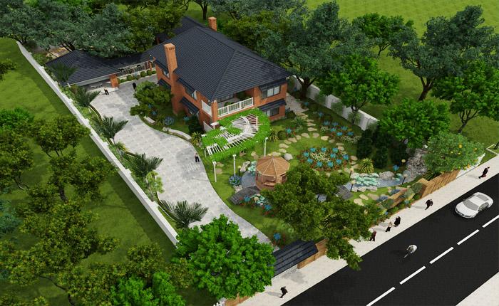 Nhà vườn ngày càng được nhiều người ưa chuộng trong bối cảnh thành phố đất chật người đông. Ảnh minh họa: Internet