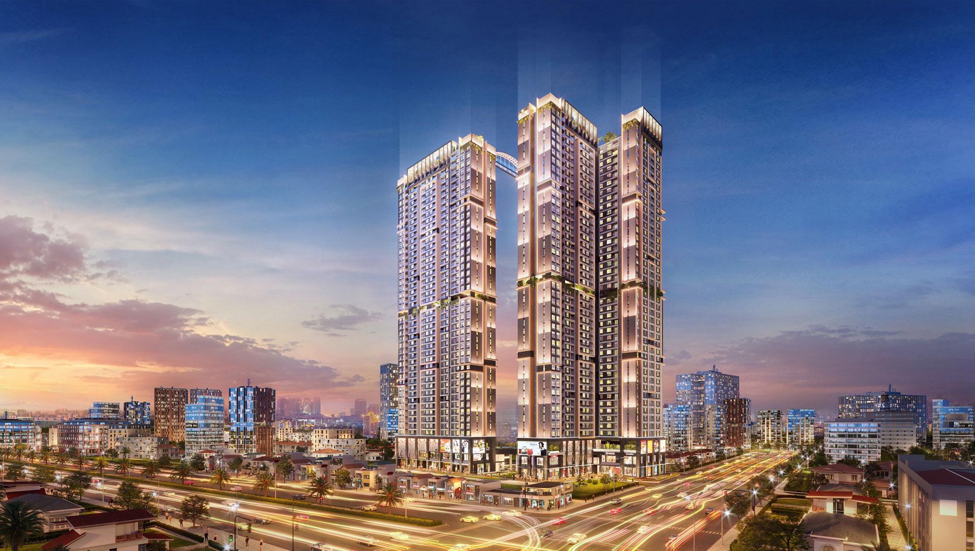 Khu phức hợp căn hộ thông minh TT Thành phố Thủ Dầu Một Happy One - Central