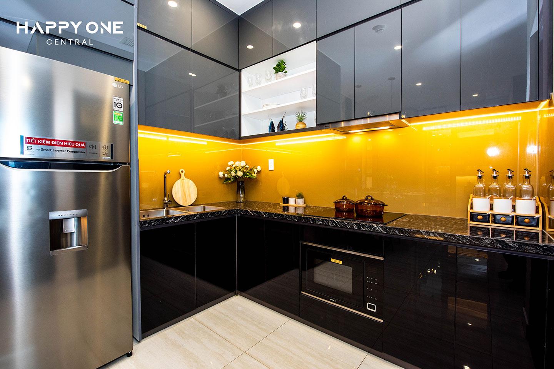 Phòng bếp nhà mẫu 2PN HOC 02