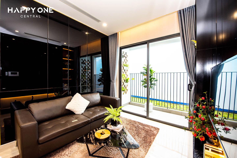 Phòng khách nhà mẫu 1PN HOC 02