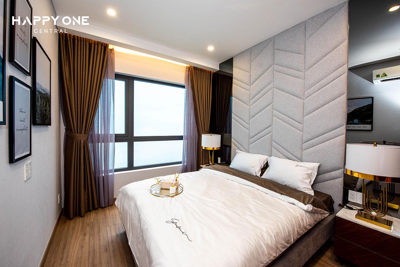 Phòng ngủ master nhà mẫu 2PN HOC 01