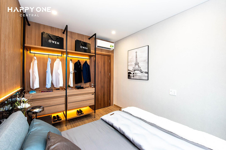 Phòng ngủ nhà mẫu 1PN HOC 02