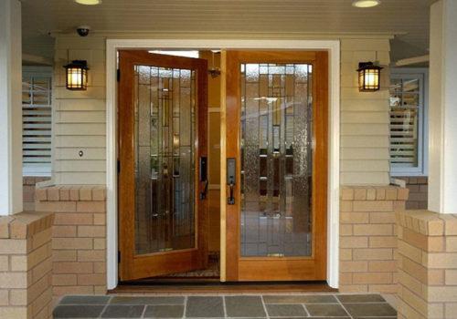 Cách chọn kích thước cửa chính đẹp cho gia chủ