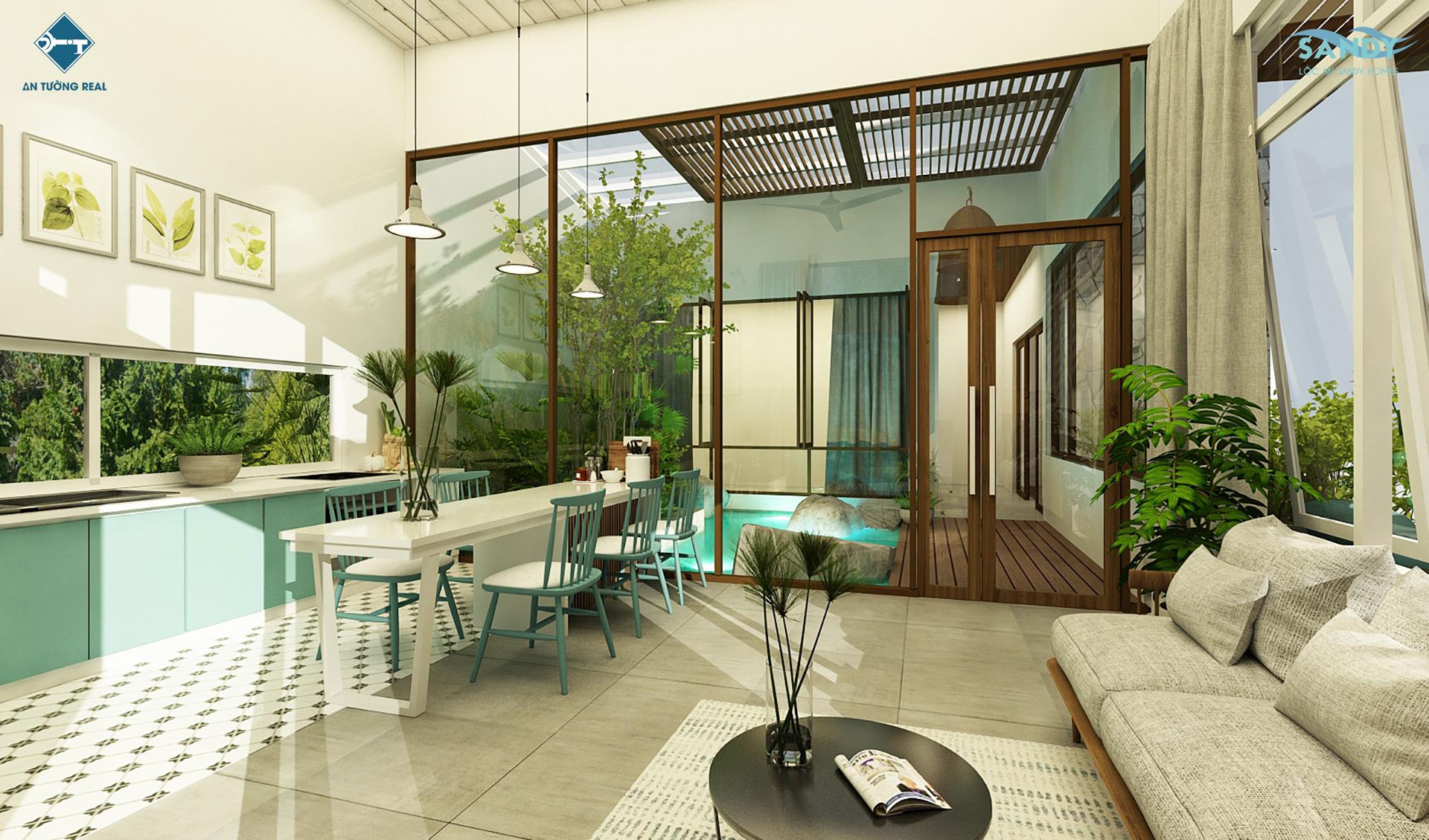 Nhà mẫu Lộc An Sandy Homes GD2 2021 07