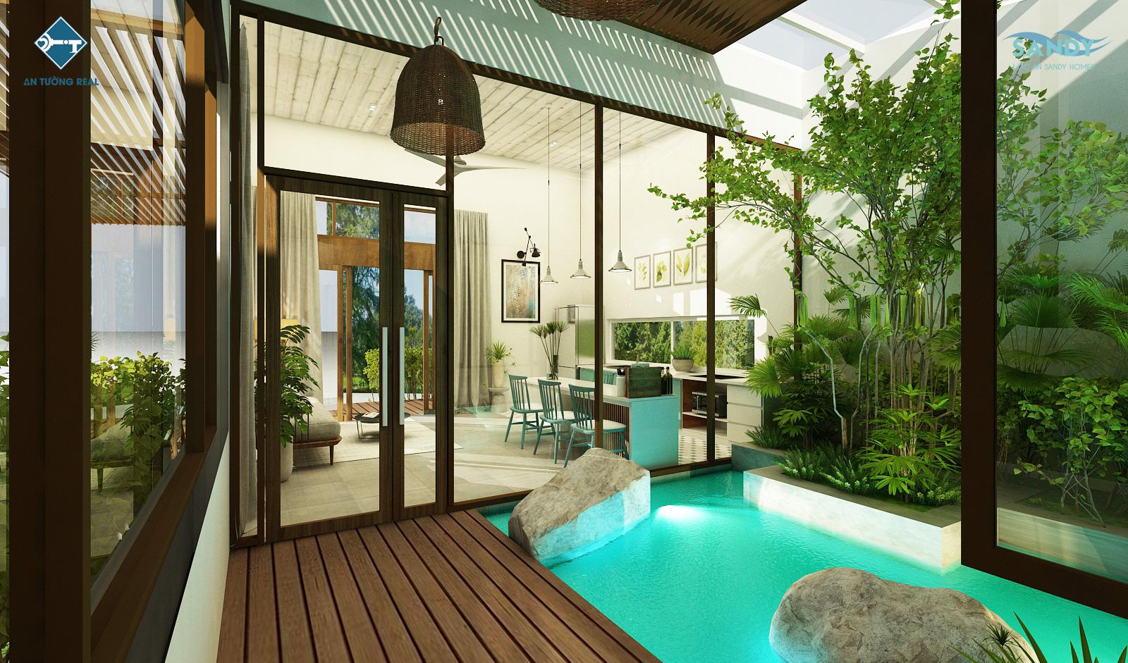 Nhà mẫu Lộc An Sandy Homes GD2 2021 10