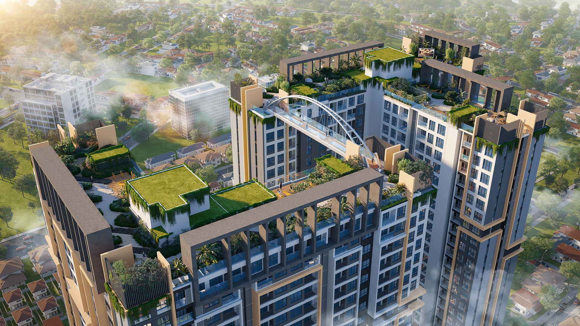 HAPPY ONE - Central với hơn 1.300 căn hộ trên tổng diện tích 10.600m2