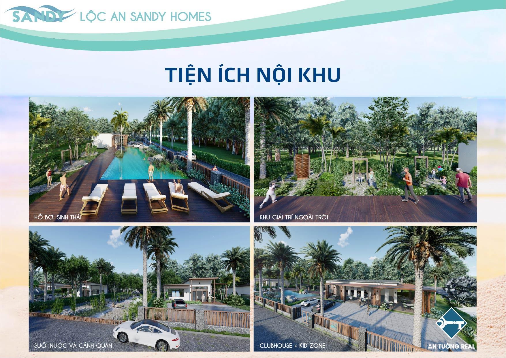 Tiện ích nội khu Lộc An Sandy Homes