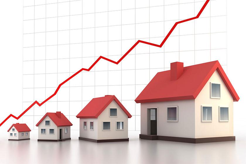 Giá bất động sản đang có xu hướng ngày càng tăng.