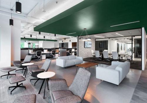 Xu hướng thiết kế văn phòng nổi bật trong năm 2021