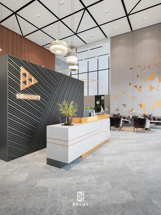 Thiết kế văn phòng thể hiện nét đặc trưng của thương hiệu