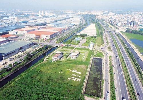 Đình Trám là khu công nghiệp đầu tiên của tỉnh Bắc Giang được hình thành từ năm 2003. Ảnh minh hoạ