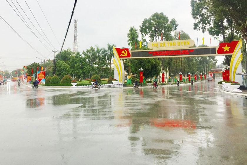 Đô thị Tân Uyên (ảnh: baobinhduong.vn)