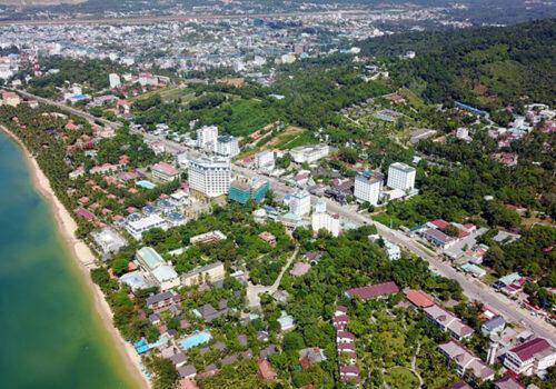 Một góc Phú Quốc nhìn từ trên cao