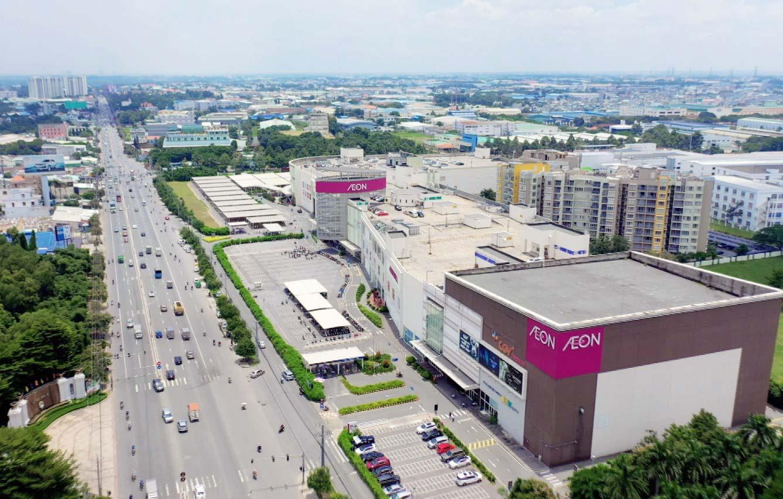 Nhiều tiện tích cao cấp đều tập trung trên QL13 như Aeon Mall, Lotte Mart, các bệnh viện quốc tế: Hạnh Phúc, Becamex, Columbia Asia