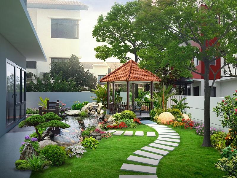 Hoa, cây cảnh trồng trong sân vườn nên được lựa chọn cẩn thận, đảm bảo phù hợp với tuổi và bản mệnh của gia chủ.