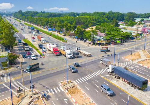 Đường Mỹ Phước - Tân Vạn thông xe toàn tuyến tháng 5/2021
