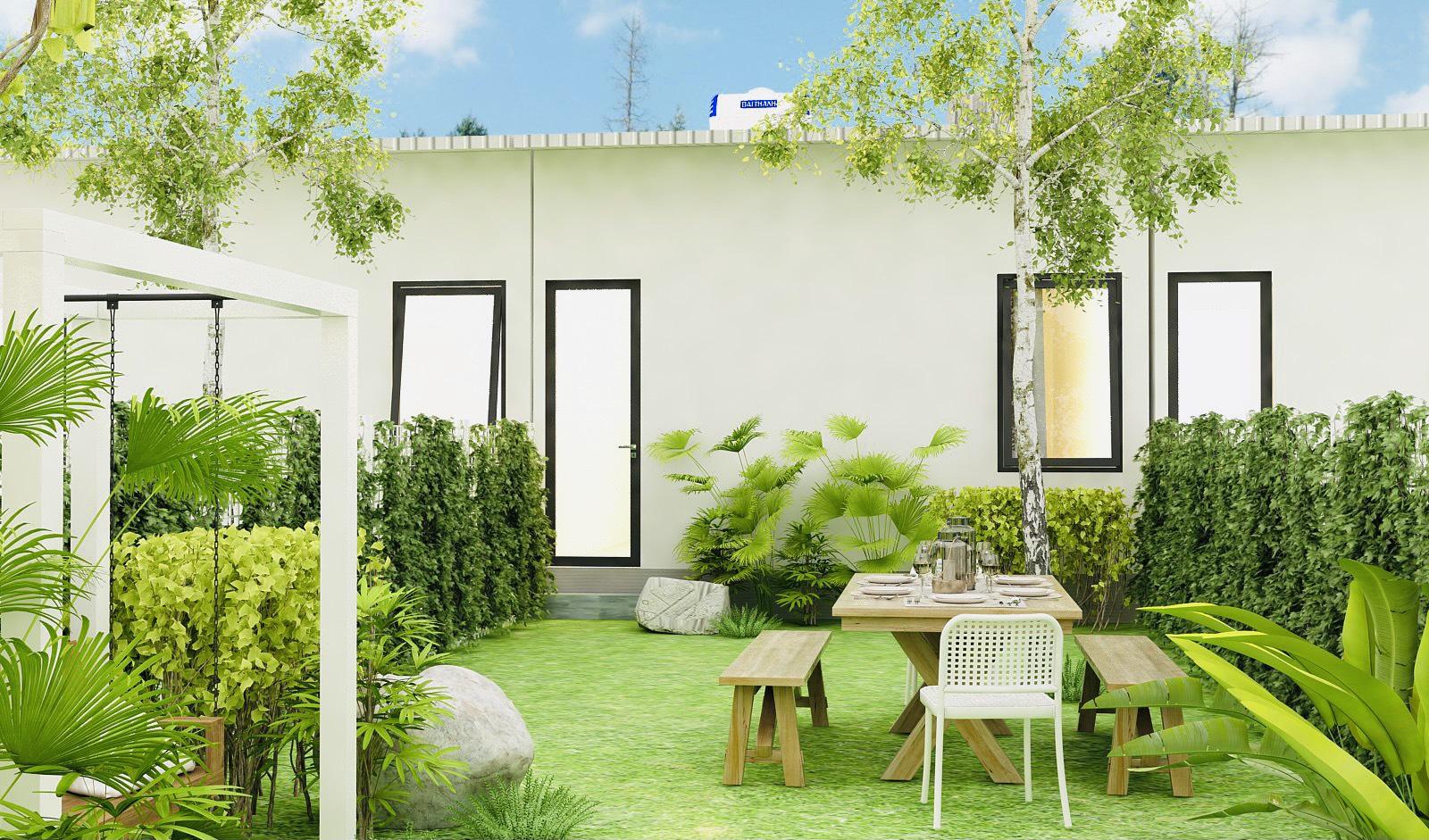 Phong cách thiết kế tinh tế, không gian gần gũi thiên nhiên
