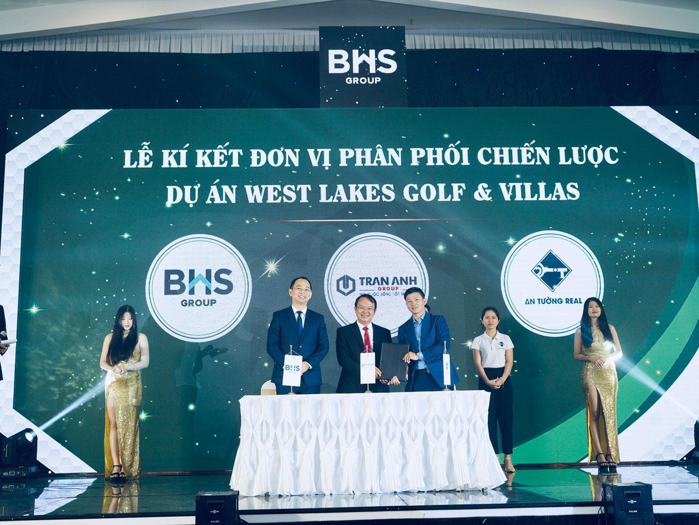 Lễ ký kết hợp tác với CĐT Trần Anh Group