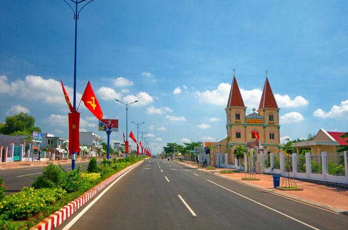 Đất Đỏ là khu vực được hưởng lợi lớn do nhiều dự án hạ tầng trọng điểm kết nối thẳng đến khu vực