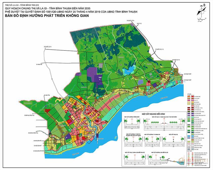 Quy hoạch chung thị xã Lagi Bình Thuận đến năm 2035