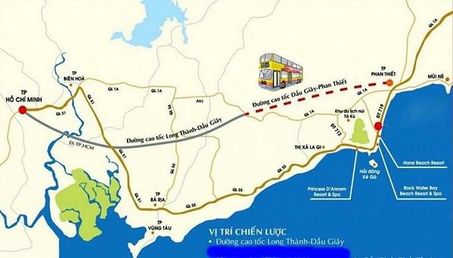 Cao tốc Long Dầu Giây - Phan Thiết tạo động lực cho sự phát triển chung của thị xã La Gi