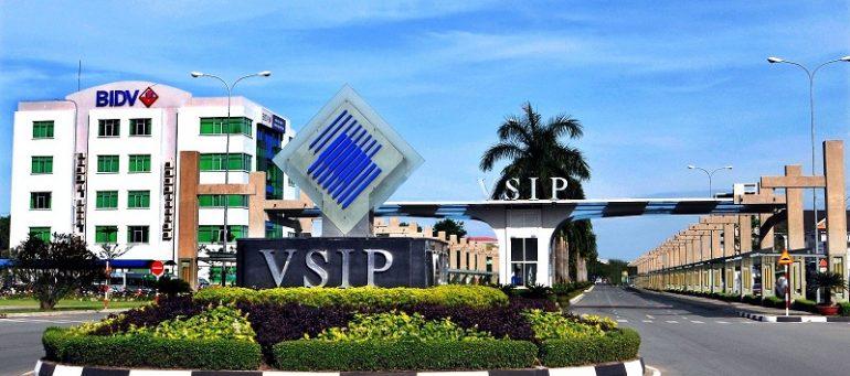VSIP 1 là một trong những KCN hiện đại kiểu mẫu ở Bình Dương, thu hút các nhà đầu tư trong và ngoài nước.